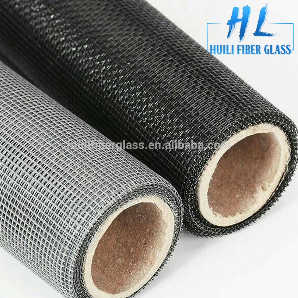 18×16 mesh,120g,pvc coated fire resistant fiberglass insect screen
