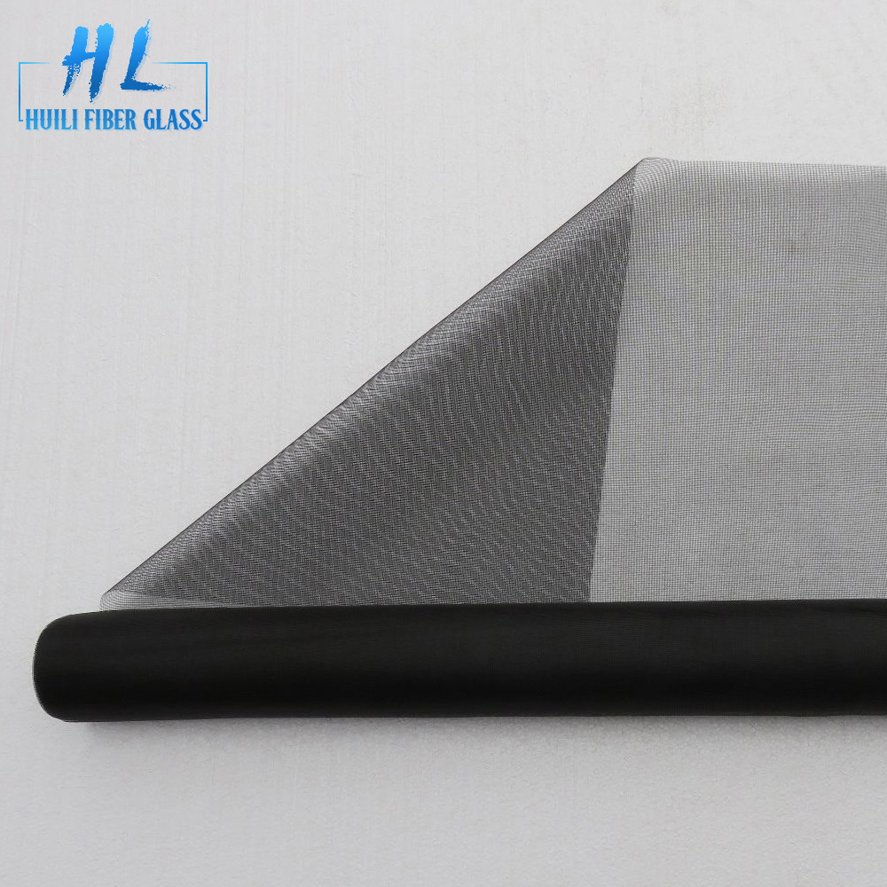 18×16 PVC Plastic Coated Fire Resistant Fiberglass Window Screen