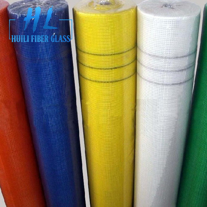 1m x 50m white color fiberglass drywall mesh roll