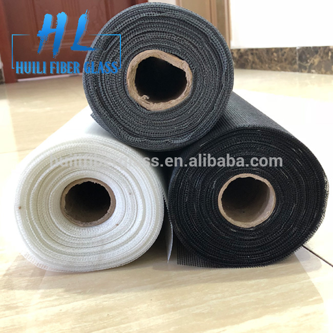 2018 Huili window screen fiberglass material/insect screen mesh grey
