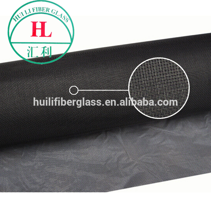 20*20 Black fiberglass screen mosquito net for Pool and Patio Insect Screening