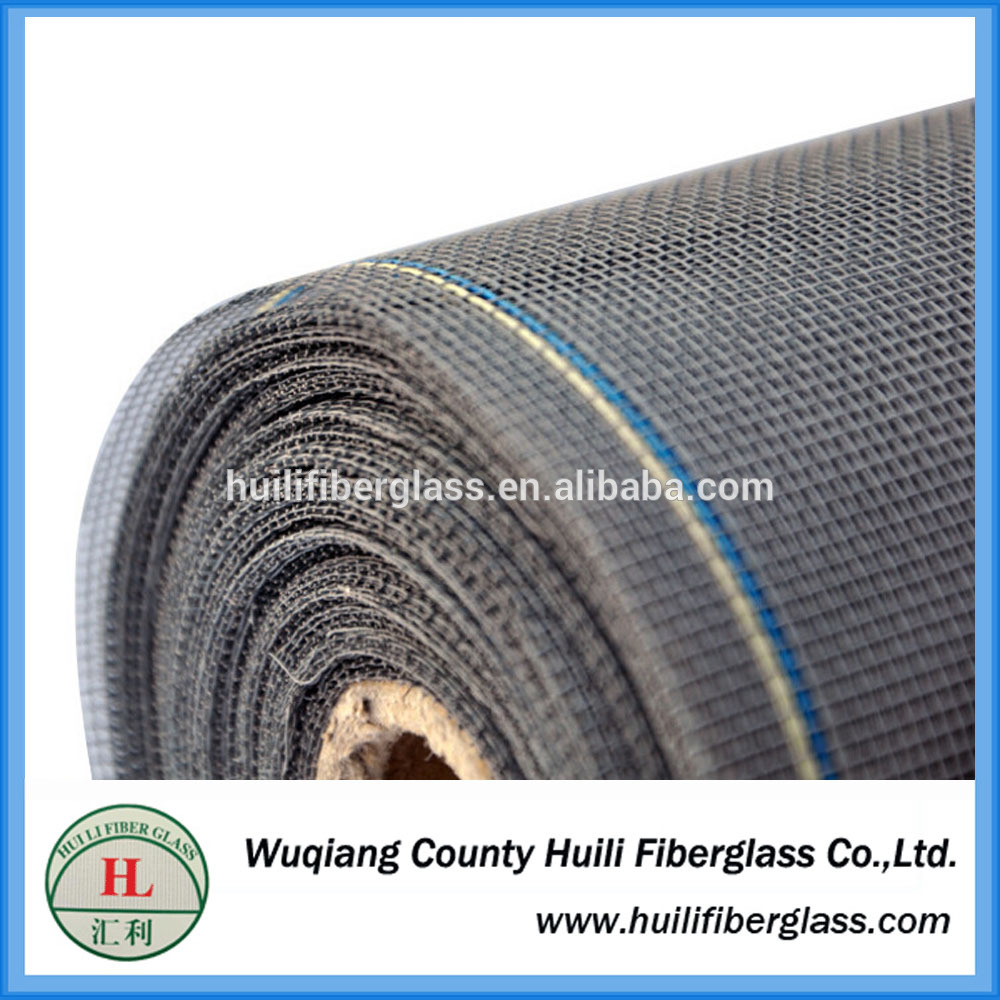 OEM Customized Fiberglass Filter Cap - 20*20 fiberglass screen material roll/phifer screen mesh 18*14 in door&windows – Huili fiberglass