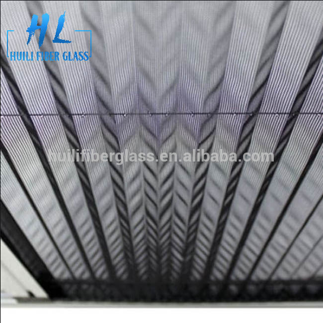 20mm polyester folded Mosquito Screen plisse insec mesh 85g/m2 grey color Featured Image