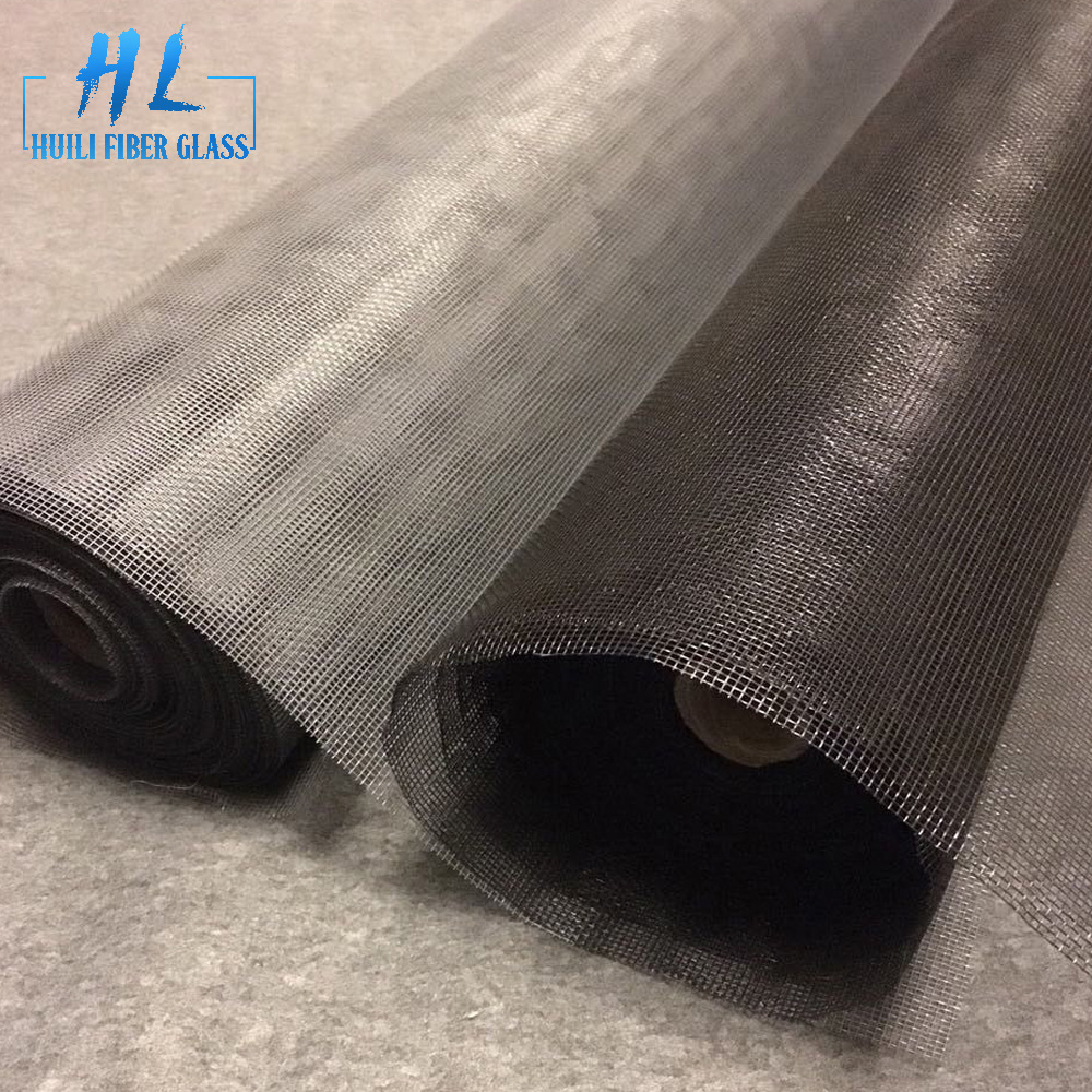 36 x 100ft Gray fiberglass window screen