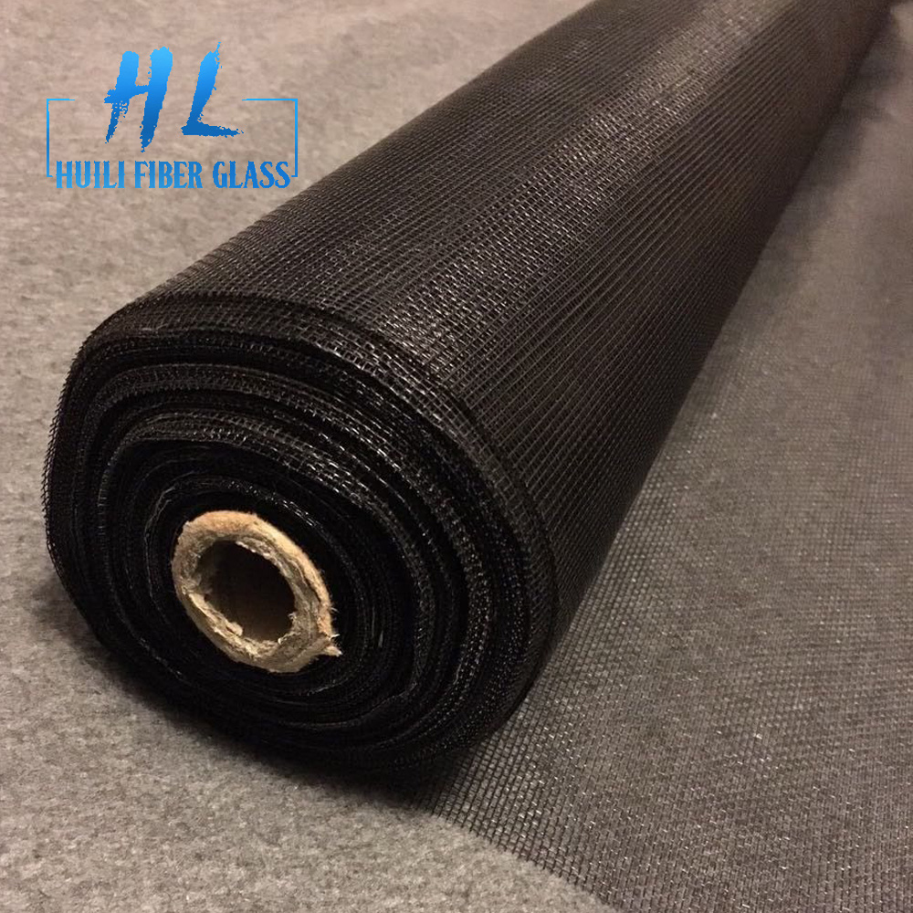 48 x 100′ roll charcoal fiberglass standard window screen