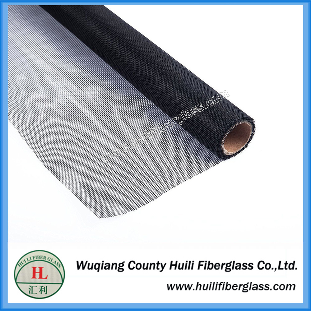 48 x 100′ tightly woven mesh fiberglass no see um screen