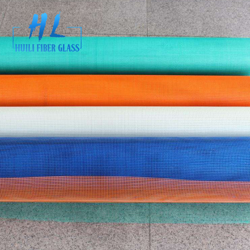 4x4mm / 5x5mm fiberglass mesh for concrete reinforcement