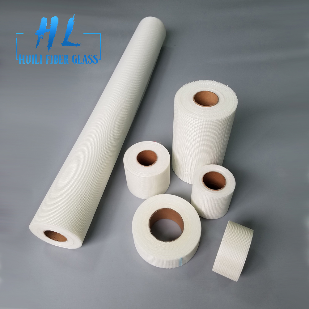 5mm x 5mm 160gsm concrete plaster fiber glass mesh