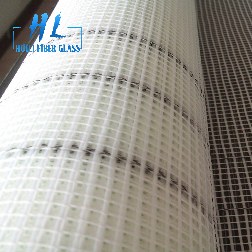 60g 5x5mm top quality white color fiberglass mesh