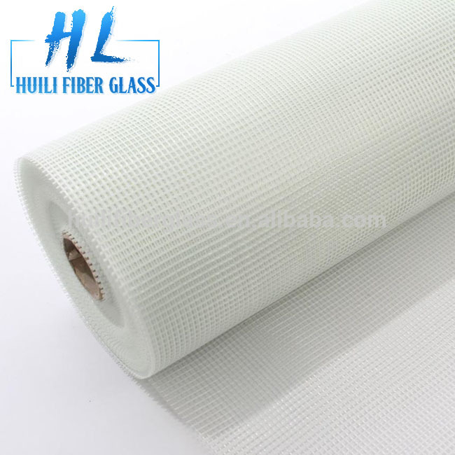Manufactur standard Unidirectional Fiberglass Tape - 60gr 75gr 80gr Alkaline Resistant Latex Coated Fiberglass Mesh for Marble Backing – Huili fiberglass