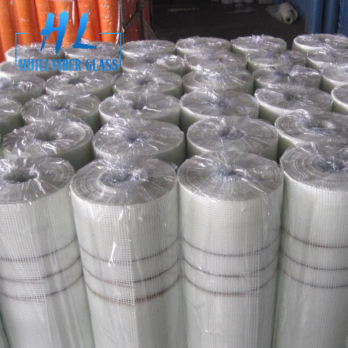 90g 5x5mm white glass fiber render mesh