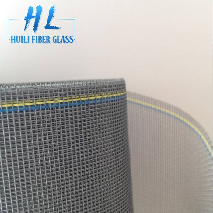 20*20 Charcoal No see ums Mesh Fiberglass Insect Screen For preventing Insects