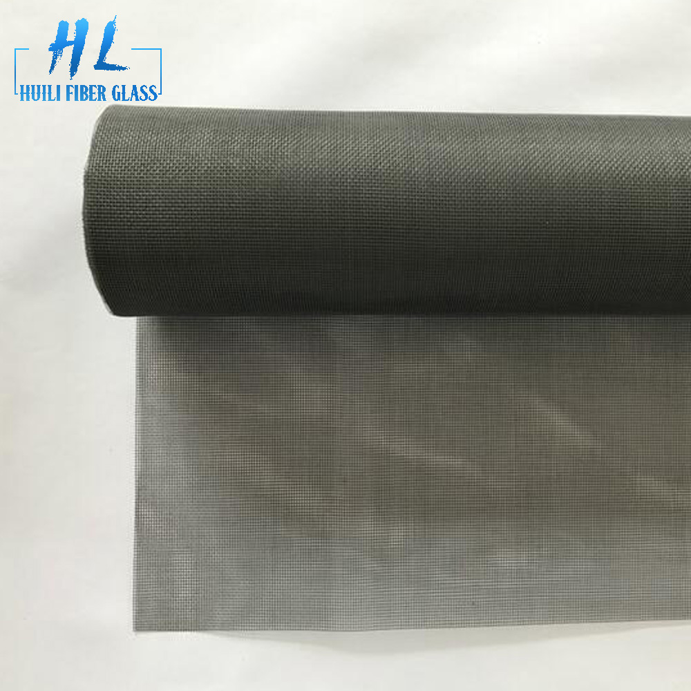 1.8m x 30m grey fiberglass fly screen for anti mosquito and insect
