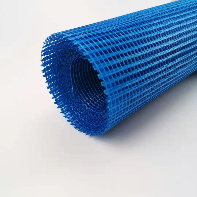 50M 100M/Roll Yellow Blue Color Soft Latex Fiberglass Mesh Cloth