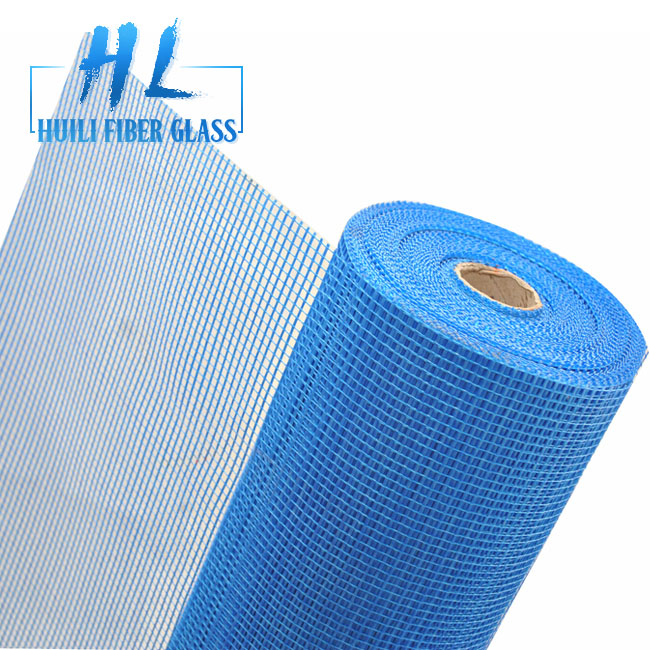 160 gr 5×5 Fiber Glass Mesh Fiberglass Mesh Fabrics For Building