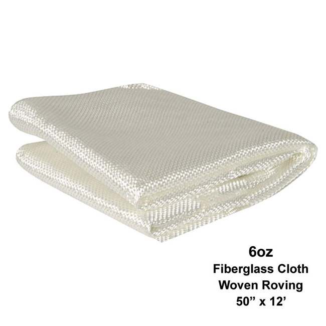 400g 600g E – glass FRP Fiberglass Woven Roving Cloth