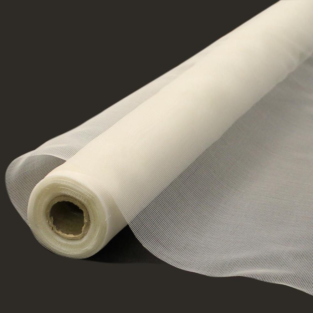17×14 100gsm white mosquito resistant fiberglass window screen
