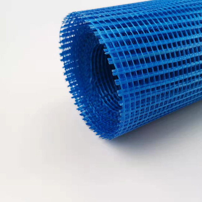 Anti crack alkaline resistance fiberglass mesh net for waterproofing