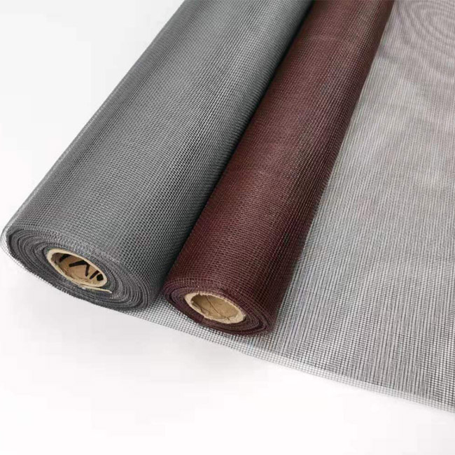 "PVC coated treatment 48"" fiberglass screen mesh"