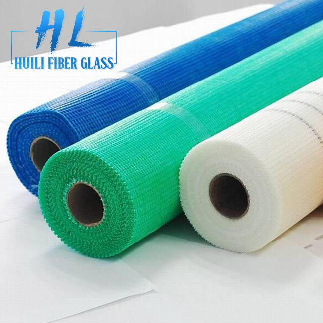hot sale Alkali-resistant wall reinforced Fiberglass Mesh with different color