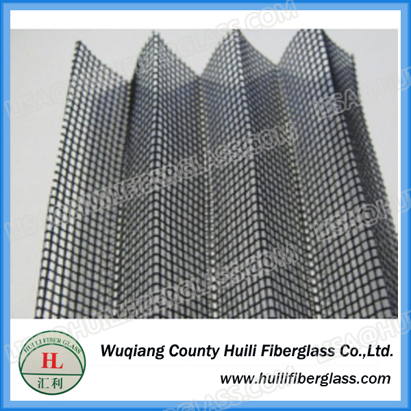 Huili Fiberglass Plisse mesh/folding mosquito screens/instant netting door
