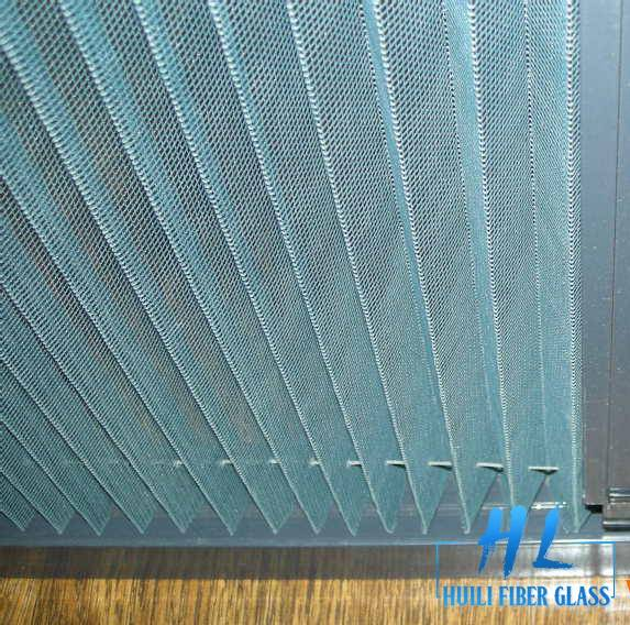 PPPE / Fiberglass and polyester Plisse Insect Screen