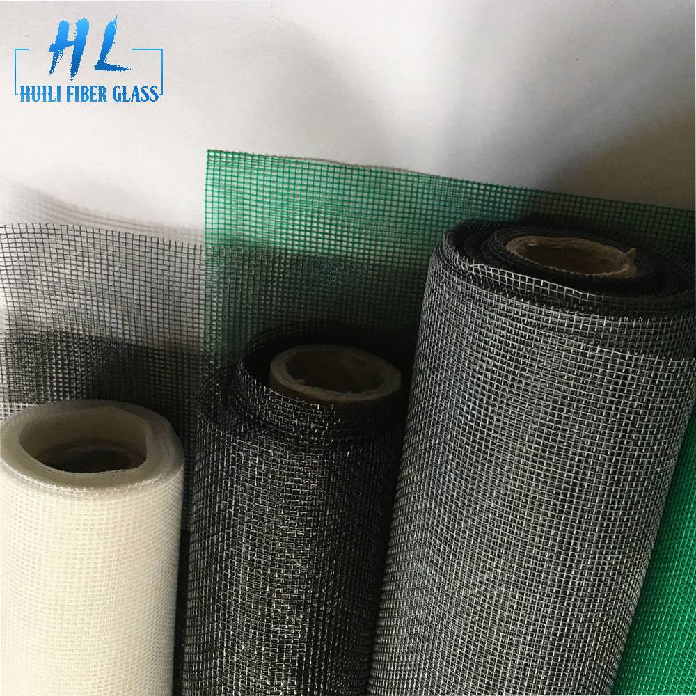 2.5m x 30m 18*16 white insect net fiberglass screen roll