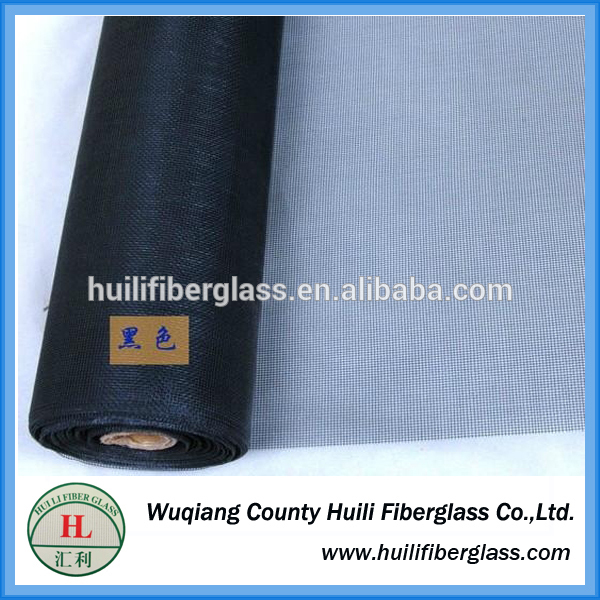 Flame retardant fiberglass wire netting one way/grey screen tension/fiberglass mosquito net