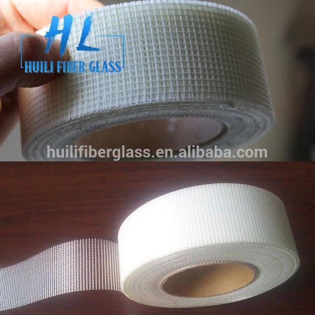 "self adhesive fiberglass scrim cloth drywall joint mesh tape 2""x65'(50mmx20m)"