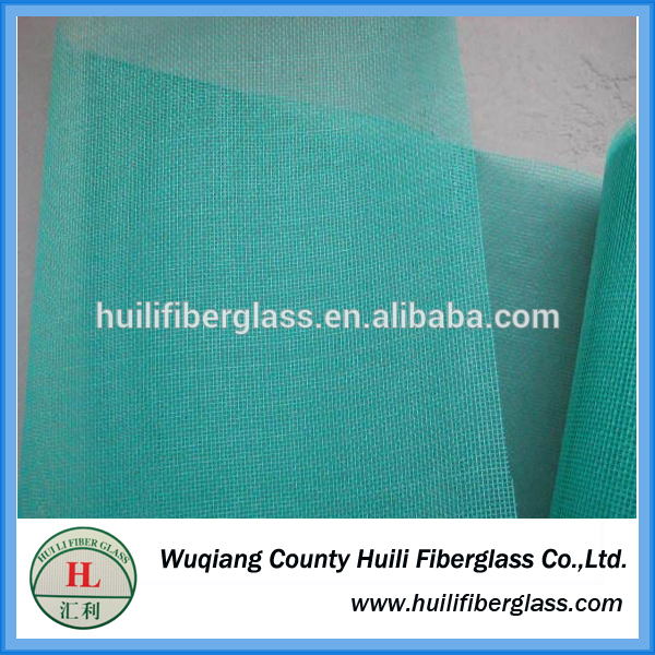 hengshui huili 18*16 Colored Fiberglass Fly Mosquito Screen/Fiberglass Protection Insect Window Screen White/Gray/Black/Green