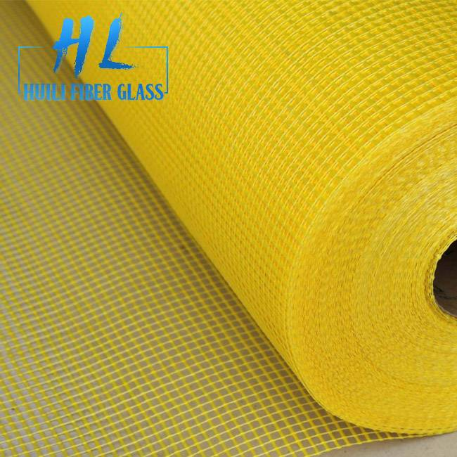 Building material alkali resistant 140g fiberglass mesh net with different color
