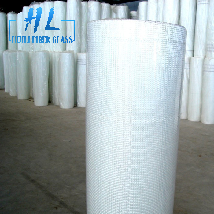 75gr 5x5mm white color fiberglass mesh for pop sheet