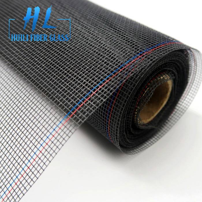 18*16 120g pvc coated fiberglass insect screen for fenestration industry.
