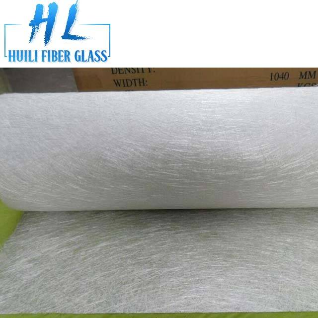 Polyester resin E glass fiberglass chopped strand mattings