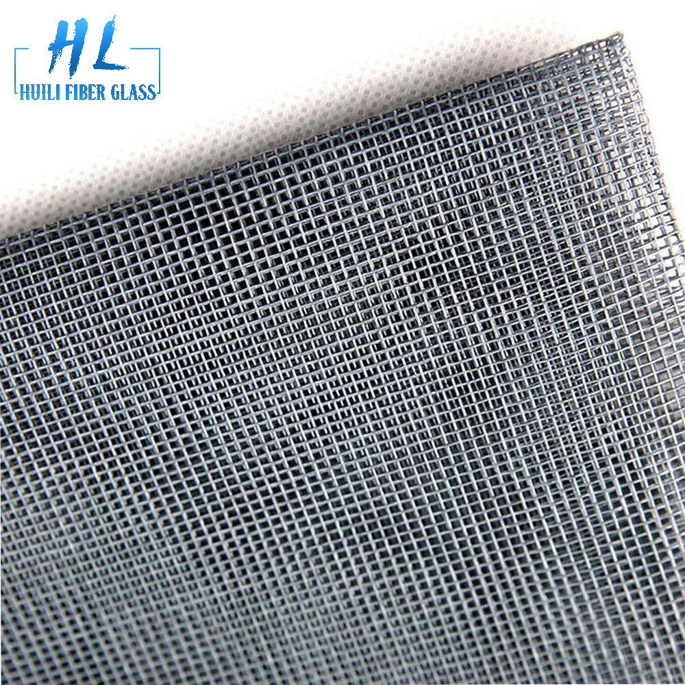 Grey color 18*16 cheap mosquito net roll anti fly fiberglass insect window screen