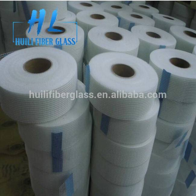 Blue 65g Self-Adhesive Fiberglass Mesh Tape, fibreglass mesh joint tape