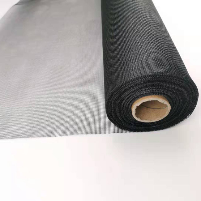 1x30m Grey and Black color fiberglass fly screen mesh anti mosquitoes