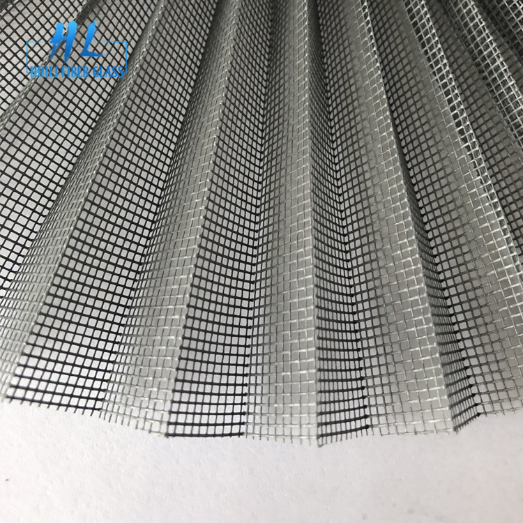 Hot Sale Factory Price Fireproof plisse insect screen window