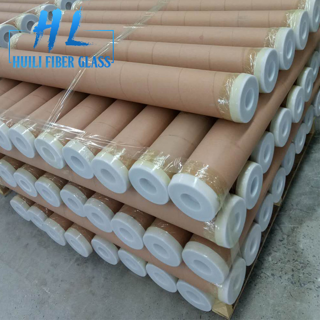 Brown Color Fiberglass Insect Screen Exported to Pakistan