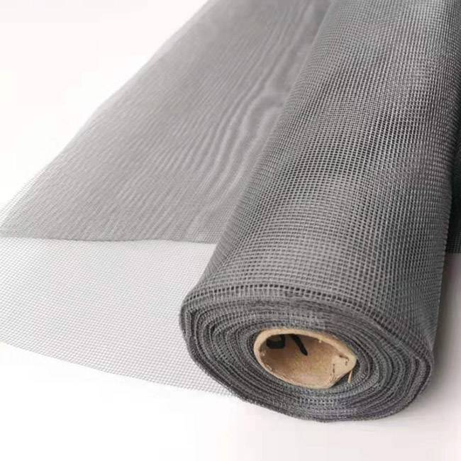 Glass fiber mesh mosquito net 1x30m gray fiberglass screen