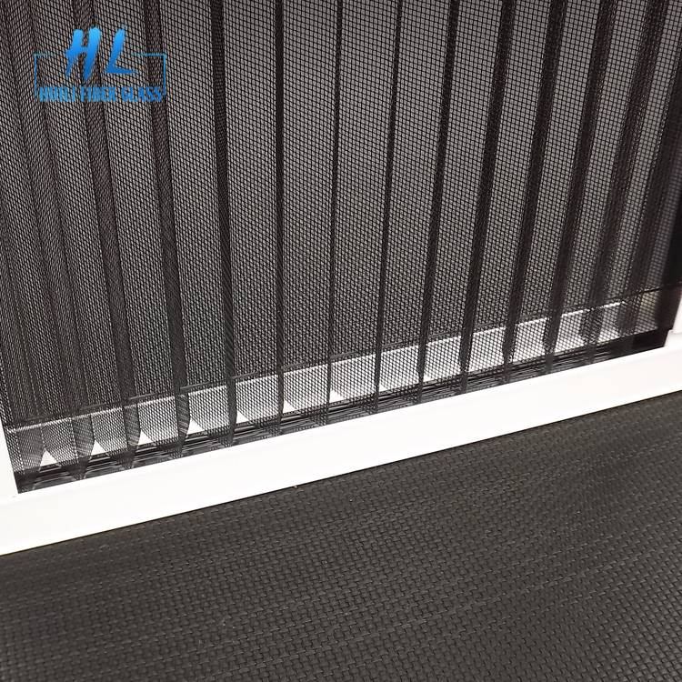 2.5m x 30m Grey Pleated Polyester Insect Screen