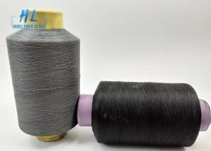 PVC Coated Fiberglass Yarn 0.28mm grey color with best quality