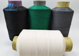 PVC Coated Fiberglass Yarn with different color used to produce fiberglass window screen