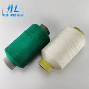 High strength PVC coated fiberglass yarn different color with best quality