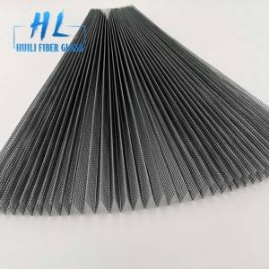 15mm 18mm 20mm PP material Pleated mesh for Insect Screen