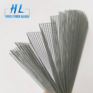 2.1m 2.5m 3m Polyester Pleated Mesh Folding Door Mesh
