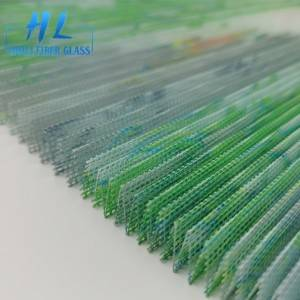 Waterproof Polyester Sturdy Pleated/Plisse Insect Window Screen /folded mosquito net