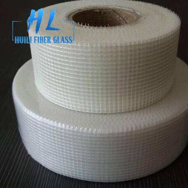 3x3mm 60g Self adhesive Fiberglass Mesh Tape for Construction Drywall Joint Featured Image