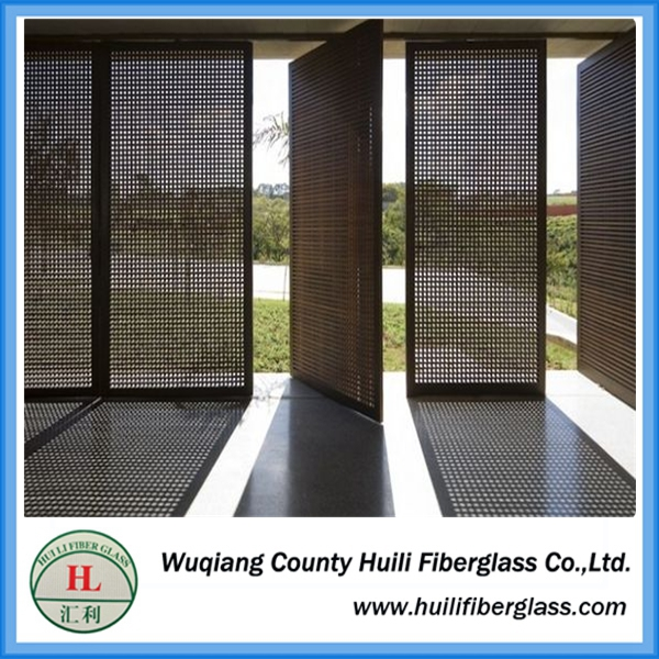 Aluminium Security Protective Window Screen/ Perforated Aluminium Door Screen/ Perforated Metal Screen Featured Image