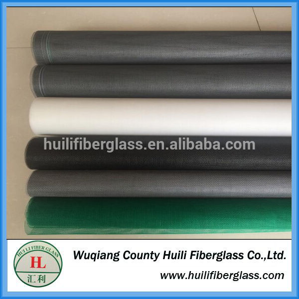Anti-mosquito MeshFiberglass Window Screen from Wuqiang Huili factory